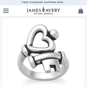 James Aubey Key to My Heart Ring